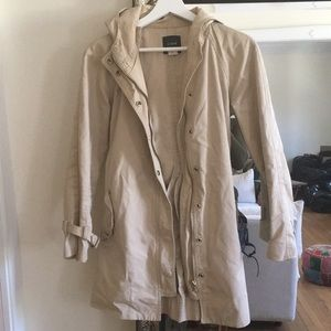 J Crew trench coat